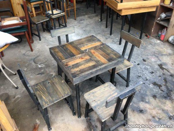 Bàn ghế cafe kiểu giá rẻ