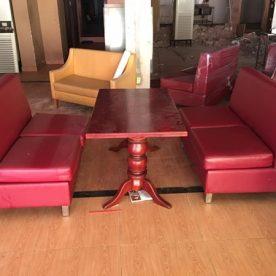 Bàn ghế sofa Cafe thanh lý