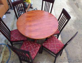 Thanh lý bàn ghế cafe kiểu tròn