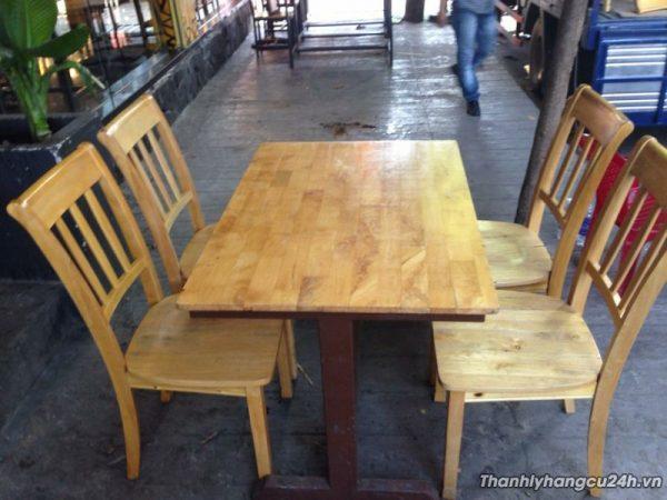 Thanh lý bàn ghế nhà hàng kiểu mới