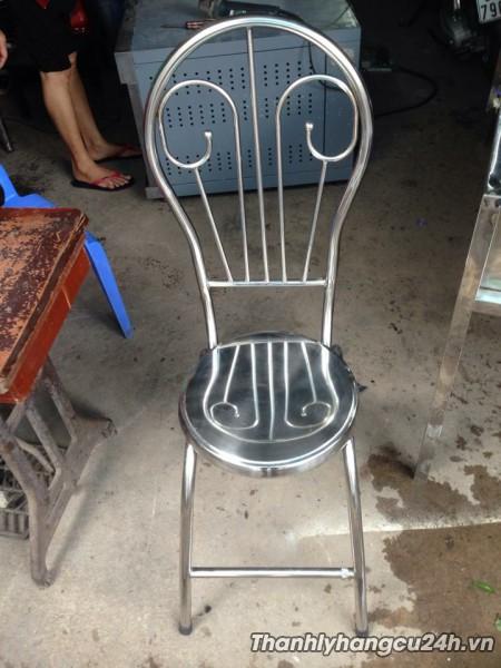 ghế inox nhà hàng