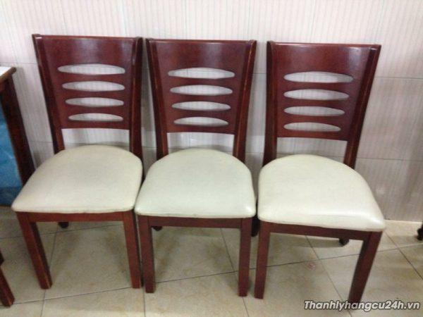 ghế nệm bàn ăn nhà hàng
